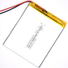 Li-polymer Rechargeable Battery 3.7V 3000mAh 367080 LiPo LI for tablet PC