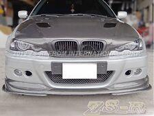 A Type Carbon Fiber 3PCS Front Bumper Lip for M3 Only BMW 2000-2006 E46