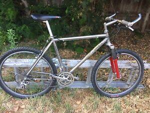 Gary Fisher Prometheus Vintage Titanium Mountain Bike