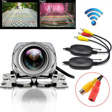 170° 2.4 G Wireless Car Rear View Cam Backup Reverse Camera For Monitor Stereo