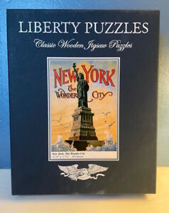 Liberty Wooden Puzzle ~ New York: The Wonder City ~ New / Never Assembled