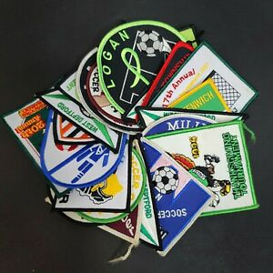Vintage 1990s Soccer Patches Mixed Lot of 24 New Jersey Sports