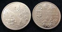 PORTUGAL 200 ESCUDOS 1995 MOLLUQUES COIN UNC