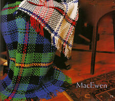 SCOTTISH TARTAN THROW RUG 'MacEwen' AFGHAN CROCHET PATTERN 8ply WOOL