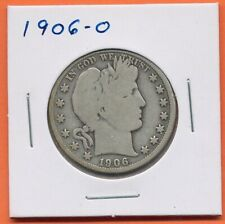 1906-O 50c Barber Liberty Head Morgan Half Dollar Silver US Coin New Orleans
