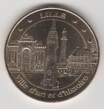 -- 2007 COIN TOKEN JETON MONNAIE DE PARIS -- 59 000 LILLE VILLE D'ART HISTOIRE