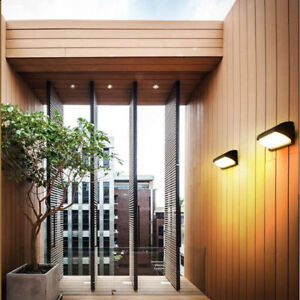 LED IP65 Wall Light Modern Indoor Outdoor Sconce Lamp Fixtures Up Down Porch US