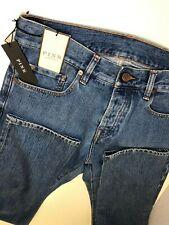 Thomas Pink Brando Regular Man Jeans Denim Waist 30 Made in Italy 195$ Blue