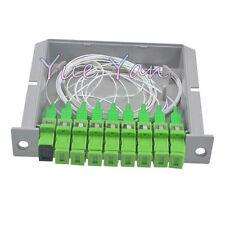 SC APC PLC 1X8 Splitter Fiber Optical Box FTTH PLC Splitter Box Singlemode