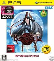 Used PS3  Bayonetta Best SONY PLAYSTATION 3 JAPAN JAPANESE IMPORT