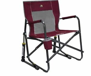 GCI Outdoor Freestyle Rocker Portable Folding Rocking Director Camping Chair