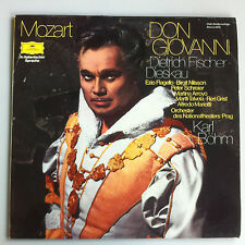 LP - Mozart - Don Giovanni - Fischer Dieskau - Böhm - Nationaltheater Prag - DGG