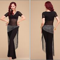 Belly Dance Costume Top Pants Suits Indian Tribal Yoga Practice Outfit Costume