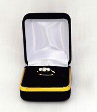 Antique Edwardian 18 Ct Gold Platinum Diamond Trilogy Ring Circa 1910 2.5 Grams