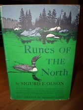 Sigurd Olson Runes of the North Signed 1st