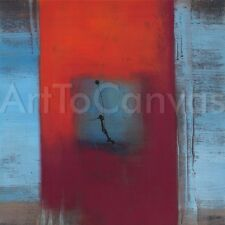 CONCEPTION IV (27x27) and V (27x27) SET by CAROLE BECAM ABSTRACT 2PC CANVAS