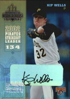 2003 (PIRATES) Donruss Champions Autographs #210 Kip Wells/500
