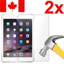 2x TEMPERED GLASS SCREEN PROTECTOR FOR APPLE IPAD