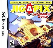 Jigapix: Wonderful World (Nintendo DS, 2010) cartridge only ID#059