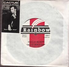 "cactus world news don't let me down 7""  uk"