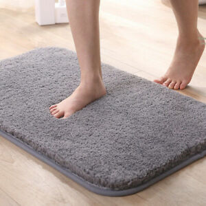 Non Slip Mat Bath Mat Water Absorbent padded floor mat Soft Thick Bathroom Rug