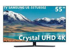 "TV SAMSUNG UE55TU8502 55"" SMART ULTRA HD 4K Televisore HDR DVB-T2 Piede centrale"