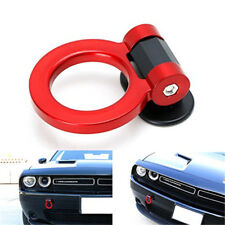 Universal ABS Red Ring Track Racing Style Tow Hook Look Decoration For Any Car