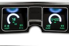 1968 CHEVELLE DIGITAL DASH Instrument Gauge Cluster BLUE LEDs! Intellitronix