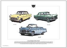 FORD CONSUL / ZEPHYR / ZODIAC  Mk2 MkII - Fine Art Print A3 size - Classic Fords