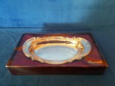Vintage Sherwood Silverware Silver Plated Tray/ Serving Plate New in Box