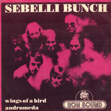 "SEBELLI BUNCH ‎– Wings Of A Bird (1979 DYTCH SYMFO ROCK VINYL SINGLE 7"")"