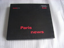 Audi Paris News Pressemappe / Press-kit, 10.2008