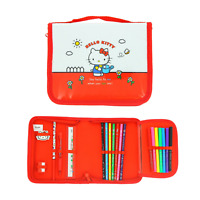 Hello Kitty Vintage Pencil Case Filled with Stationary NEW RARE UK STOCK Superb