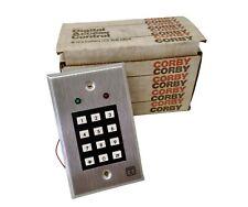 Corby 7000 Series Programmable Keypad Model 7020 Stand Alone Access Keypad