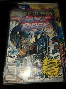 Ghost Rider #31 (Nov, 1992 Marvel) 1st team app. of the Midnight Sons KEY Poly