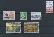 LM83720 Korea 1961 army soldiers fine lot MNH cv 20,45 EUR