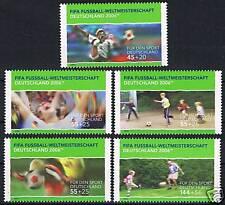 2324-2328 ** BRD 2003, Sporthilfe. Fußball-WM 2006