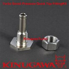 Turbo Boost Pressure Quick Tap Fitting Kit / Pressure Source on Silicon Hose