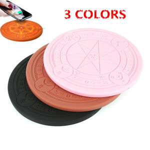 10W Qi Wireless Fast Charger Magic Array Charging Pad for iPhone Samsung