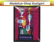 Porsche Blechschild Europa-Bergmeisterschaft 1959 20 x 15 cm Museum Edition neu