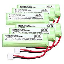 Hot 6 PCS 2.4V 500mAh NI-MH Rechargeable Battery for CPH-518D/BT-28443/BT-18443
