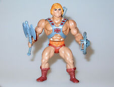 MOTU HE-MAN MASTERS OF THE UNIVERSE HE-MAN 100% COMPLETE - MATTEL TAIWAN