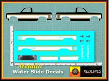 1/64 '83 Chevy Silverado' Metallic CUSTOM Decal SCR-0299M