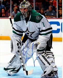 JACK CAMPBELL autographed SIGNED DALLAS STARS 8X10 photo TORONTO MAPLE LEAFS