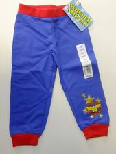 Wonder Woman  Girls 3T Jogger Pants Blue Red NWT CUTE