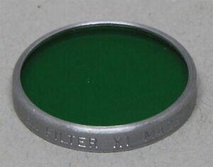 Series V 5 30mm Drop-In Filter KODAK Wratten X1 Green B&W CONTRAST USA