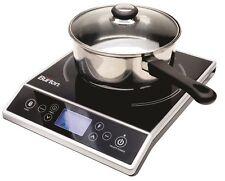 Max Burton Digital Choice 6400 Induction Cooktop  - digital touchpad controls