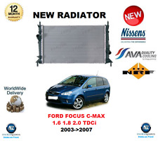 FOR FORD FOCUS C-MAX 1.6 1.8 2.0 TDCi 2003->2007 NEW RADIATOR ** OE QUALITY **