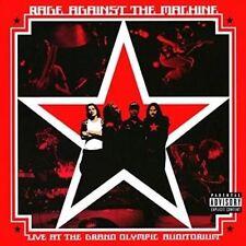 Rage Against The Machine Live Grand Olympic Auditorium LP Vinyl 33rpm
