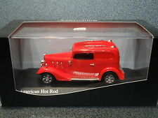 Minichamps 1:43 AMERICAN HOT ROD.  RED...mint n boxed!
